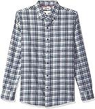 Amazon Brand - Goodthreads Men's Slim-Fit Long-Sleeve Plaid Brushed Heather Shirt