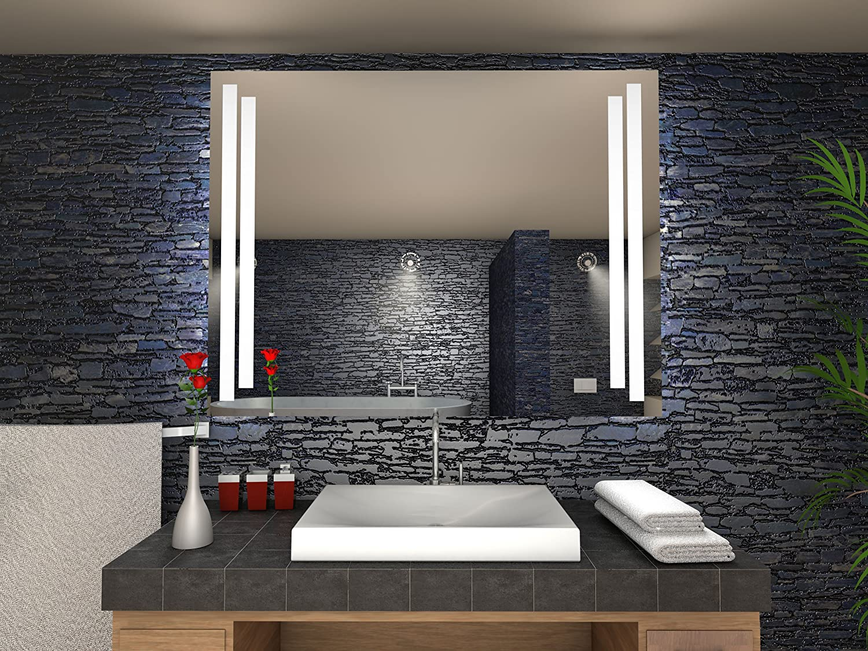 Havre Badspiegel mit mit mit LED Beleuchtung - B  100 cm x H  70 cm b69790