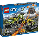 Lego - 60124 - City - Jeu de Construction  - La Base d'Exploration du Volcan