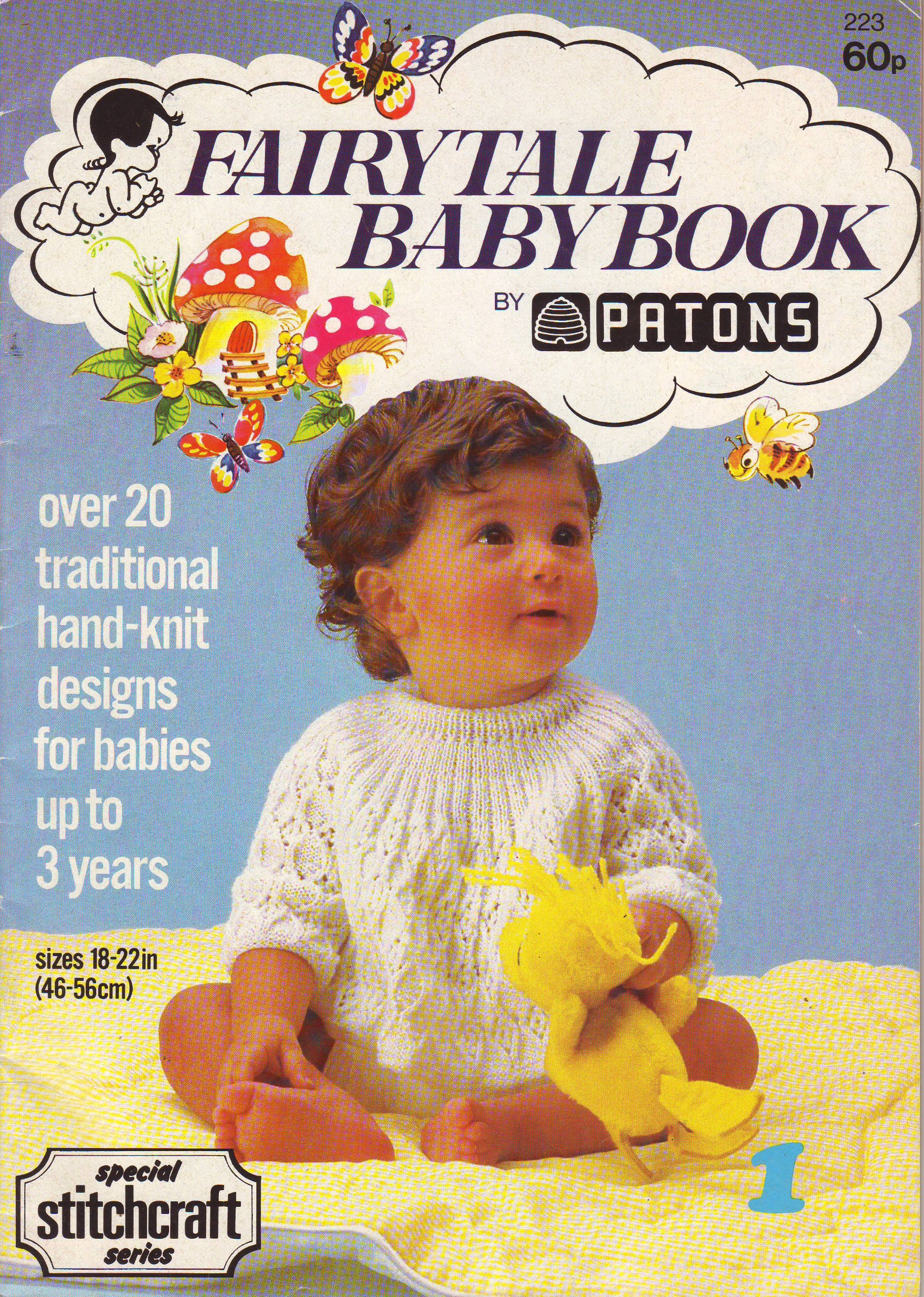 4a664a27f09e Patons Fairytale Baby Book 22 designs for Baby and Cildren up to age ...