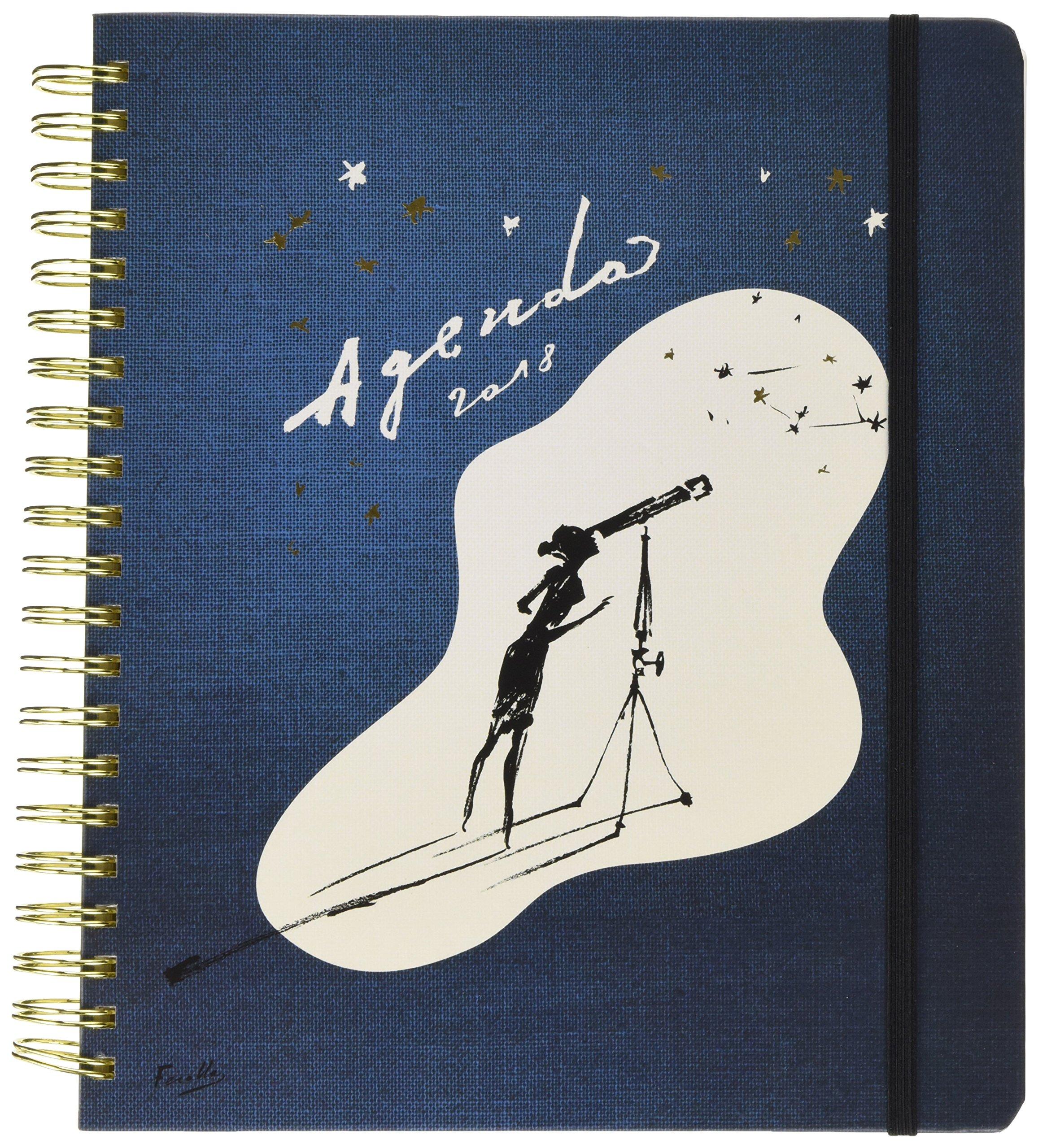 Kate Spade 2017-18 17 Month Academic Calender, Zodiac, 11'' x 10'' (173250) by Kate Spade New York