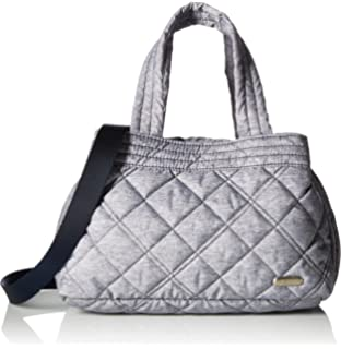 200d6087bf9b Amazon.com: LeSportsac City Large Mercer Tote, Ink Denim Quilted ...