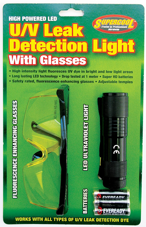 TSI Supercool 27408 High Powered U/V Light with U/V Enhancing Glasses in Clamshell