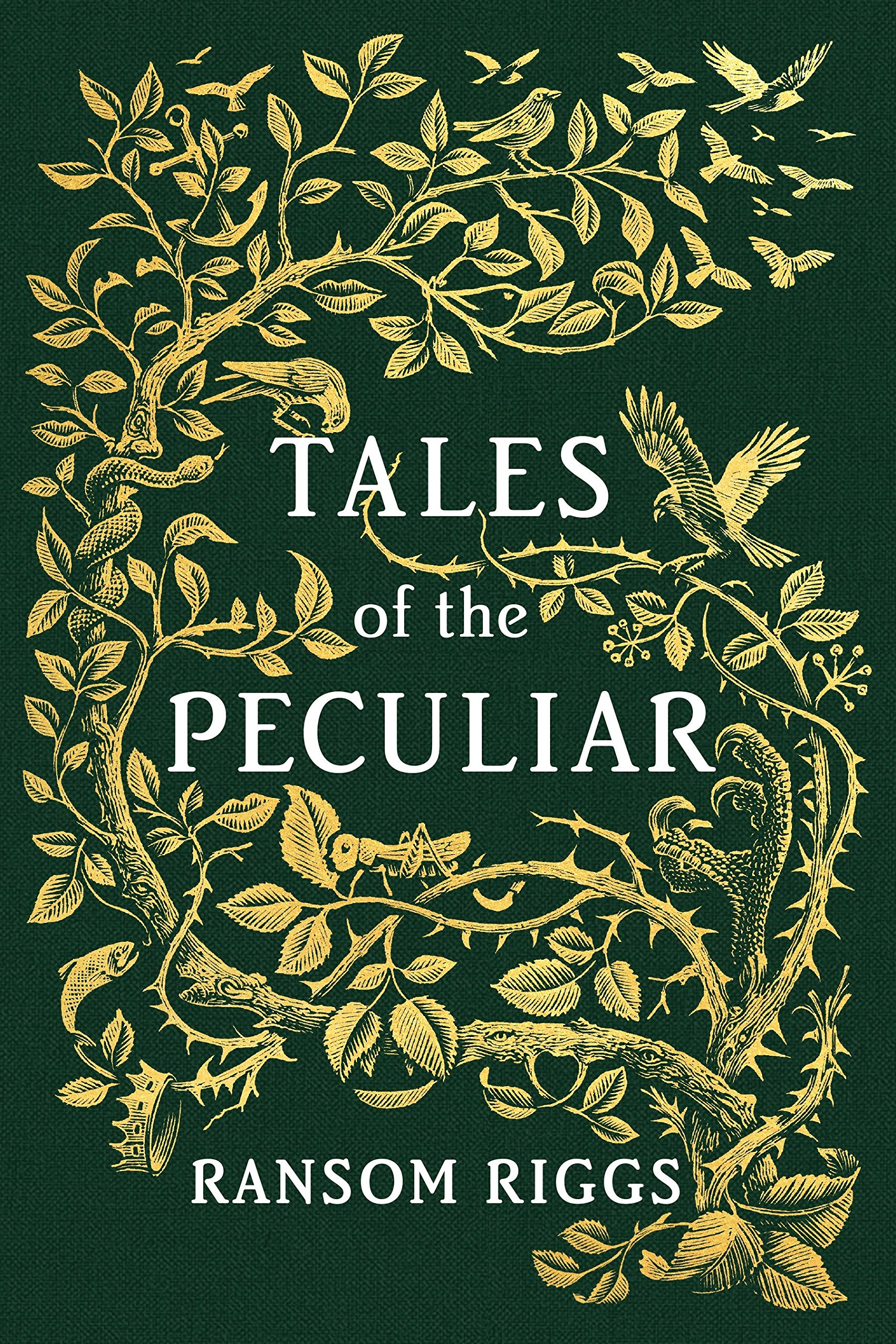 Amazon.com: Tales of the Peculiar (9780399538537): Riggs, Ransom ...