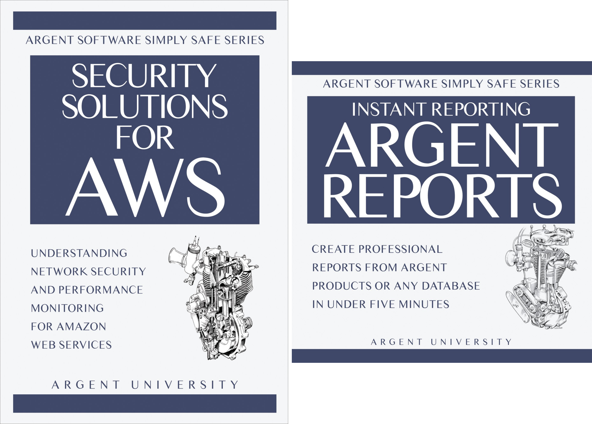 Argent Software Simply Safe (2 Book Series)