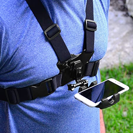 Amazon.com: Pixlplay - Soporte de pecho para Smartphone ...