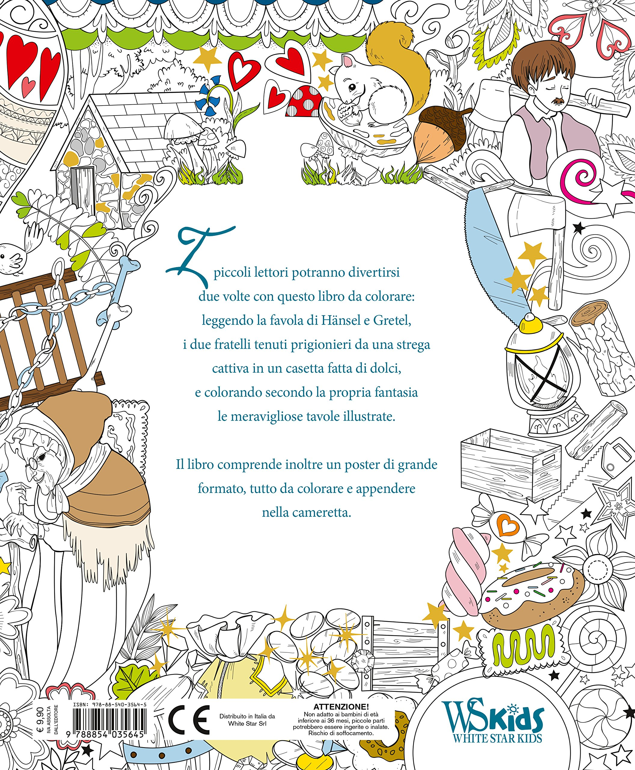 Amazon It Hänsel E Gretel Colouring Book Ediz Illustrata Con