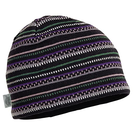 6840fe4b78a Amazon.com  Turtle Fur Niall Men s Merino Wool Striped Knit Beanie ...