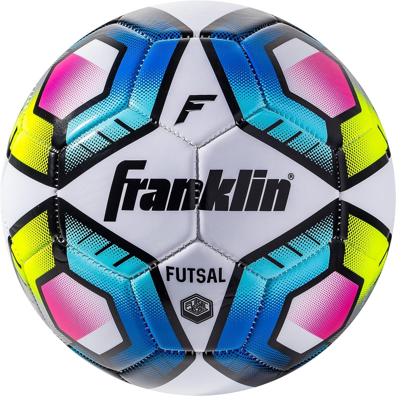 Deportes de Franklin Oficial balón de fútbol Sala, Multicolor ...