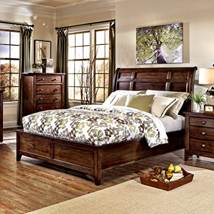 Amazon.com: Jackson Mango Wood Queen Bedroom Set: Kitchen ...