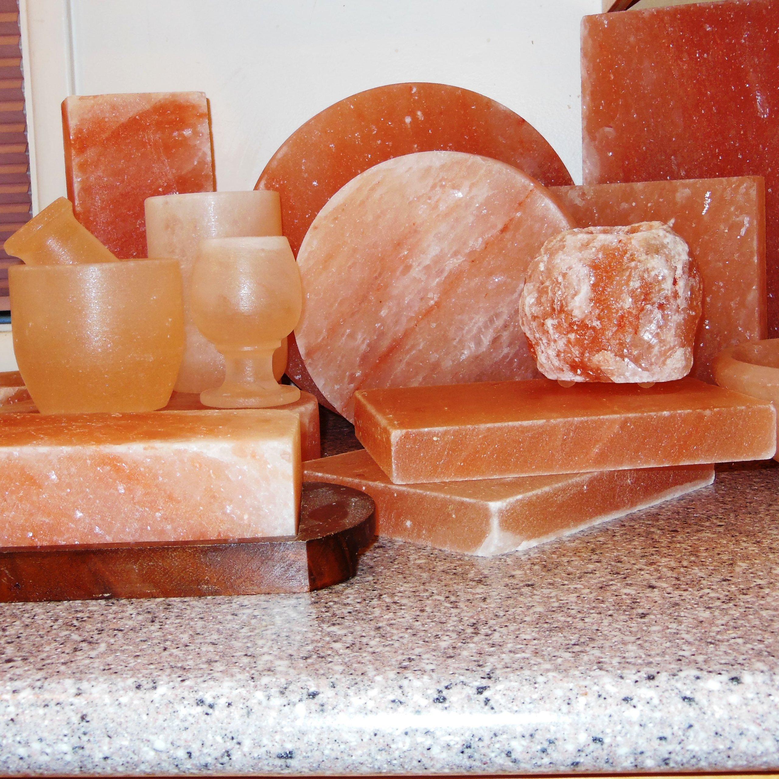Natural Himalayan Salt Plate / Slab / Block Pink Square 8x8x2-Inch by SaltSkil (Image #9)