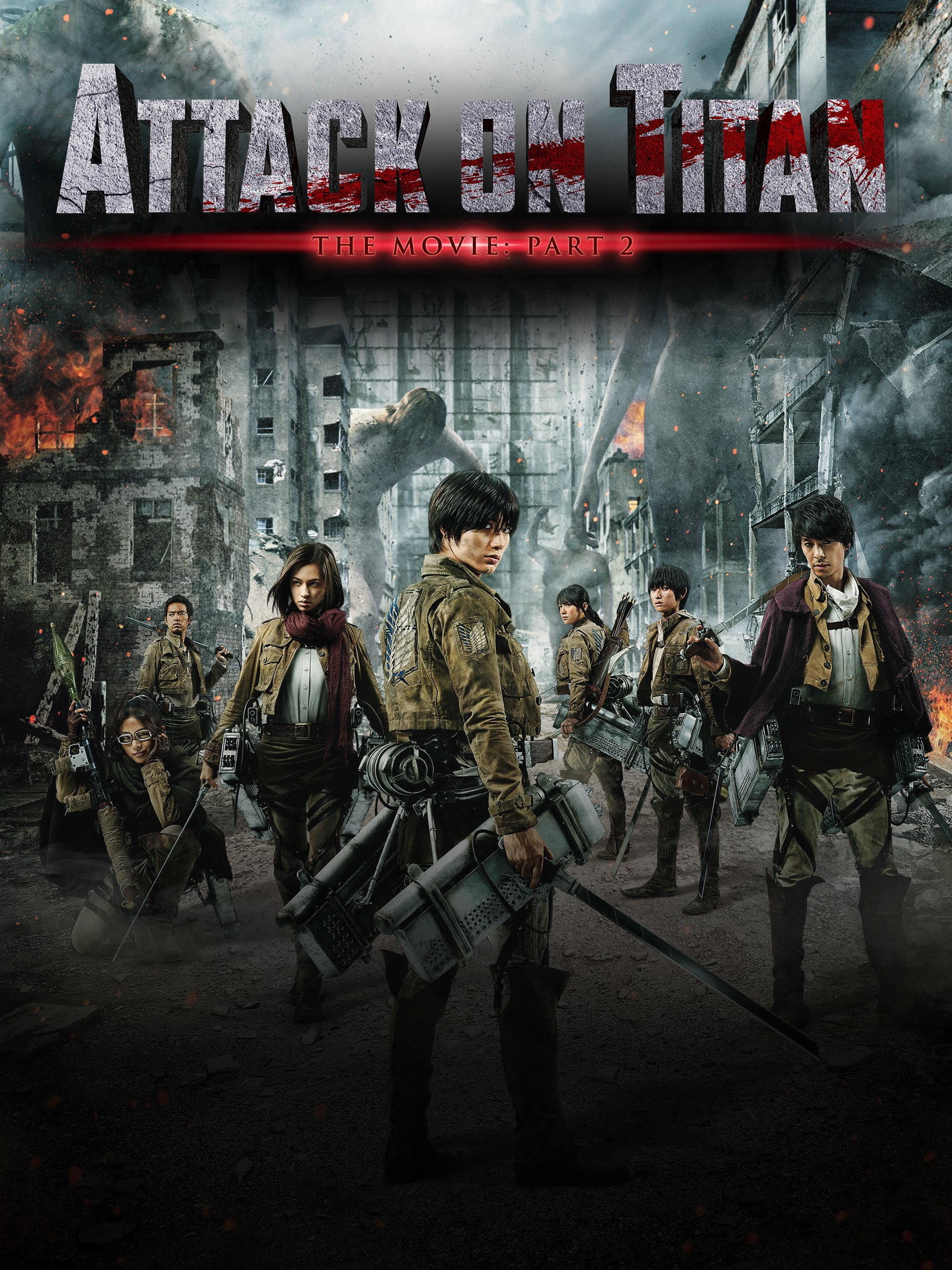Watch Attack on Titan - Live Action Movie - Part Two | Prime Video