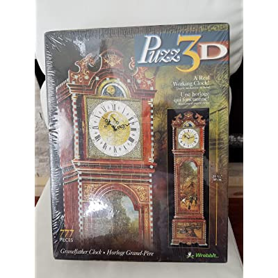 3D Grandfather Clock Puzzle 777pc: Toys & Games