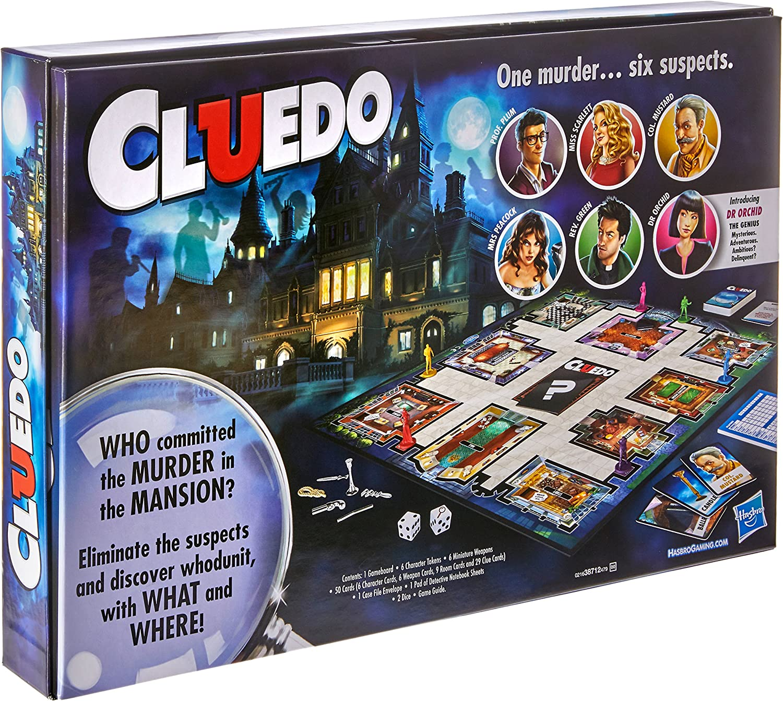 Clue Game by Hasbro: Amazon.es: Juguetes y juegos