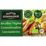 Natur Compagnie Bouillon Végétarien Clair 8 Cubes - Lot de 3