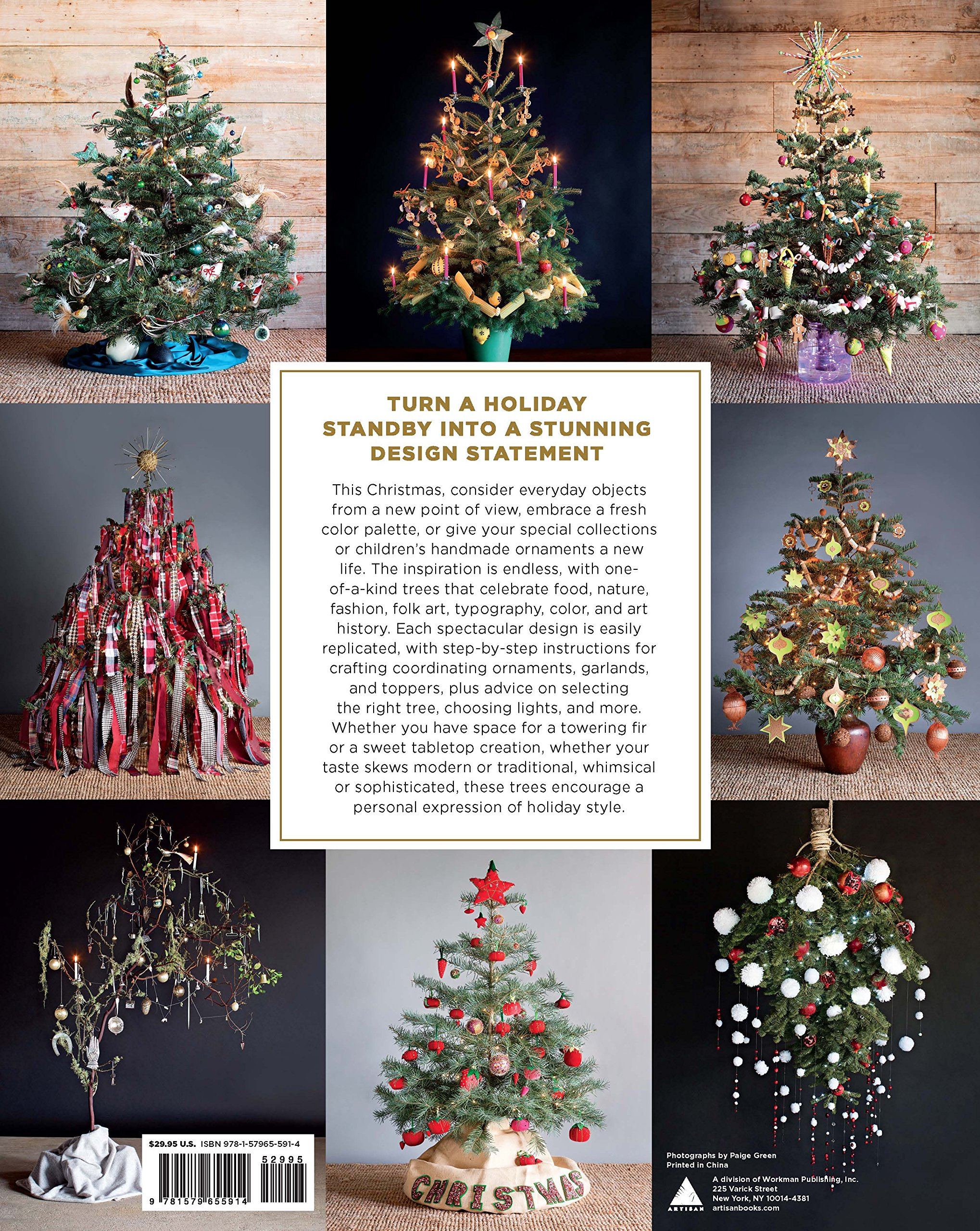 The New Christmas Tree: 24 Dazzling Trees and Over 100 Handcrafted ...