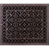 """Decorative Grille, Vent Cover, or Return Register. Made of Urethane Resin to fit over a 20""""x24"""" duct or opening. Total size of vent is 22""""x26""""x3/8"""", for wall and ceiling grilles (not for floor use)."""