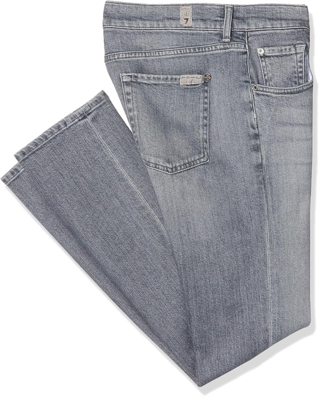 7 For All Mankind Damen Relaxed Skinny Jeanshose Grau (Grey 0kg)