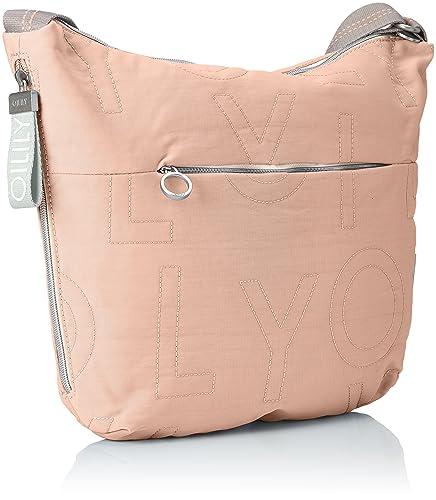 Damen Spell Shoulderbag Lhz Schultertasche, Beige (Nude), 8x32x40 cm Oilily