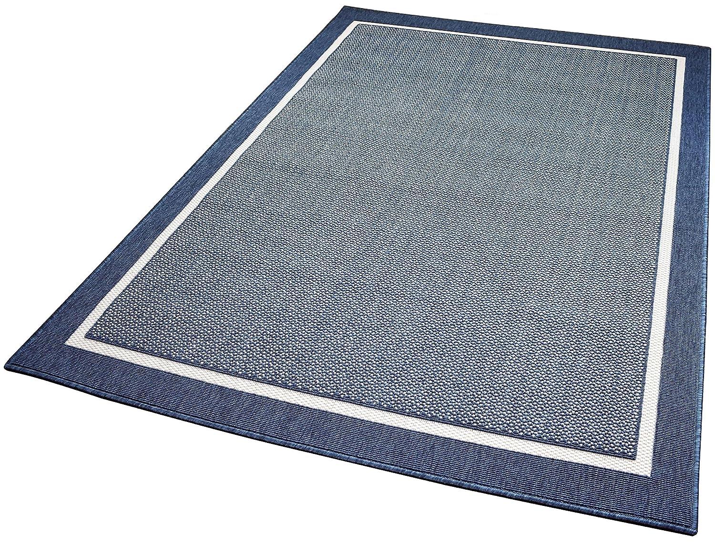 Balta Rugs In- und Outdoor-Teppich Framed Area schwarz L L L 140x200cm f. Innen und Außen 54a9ee