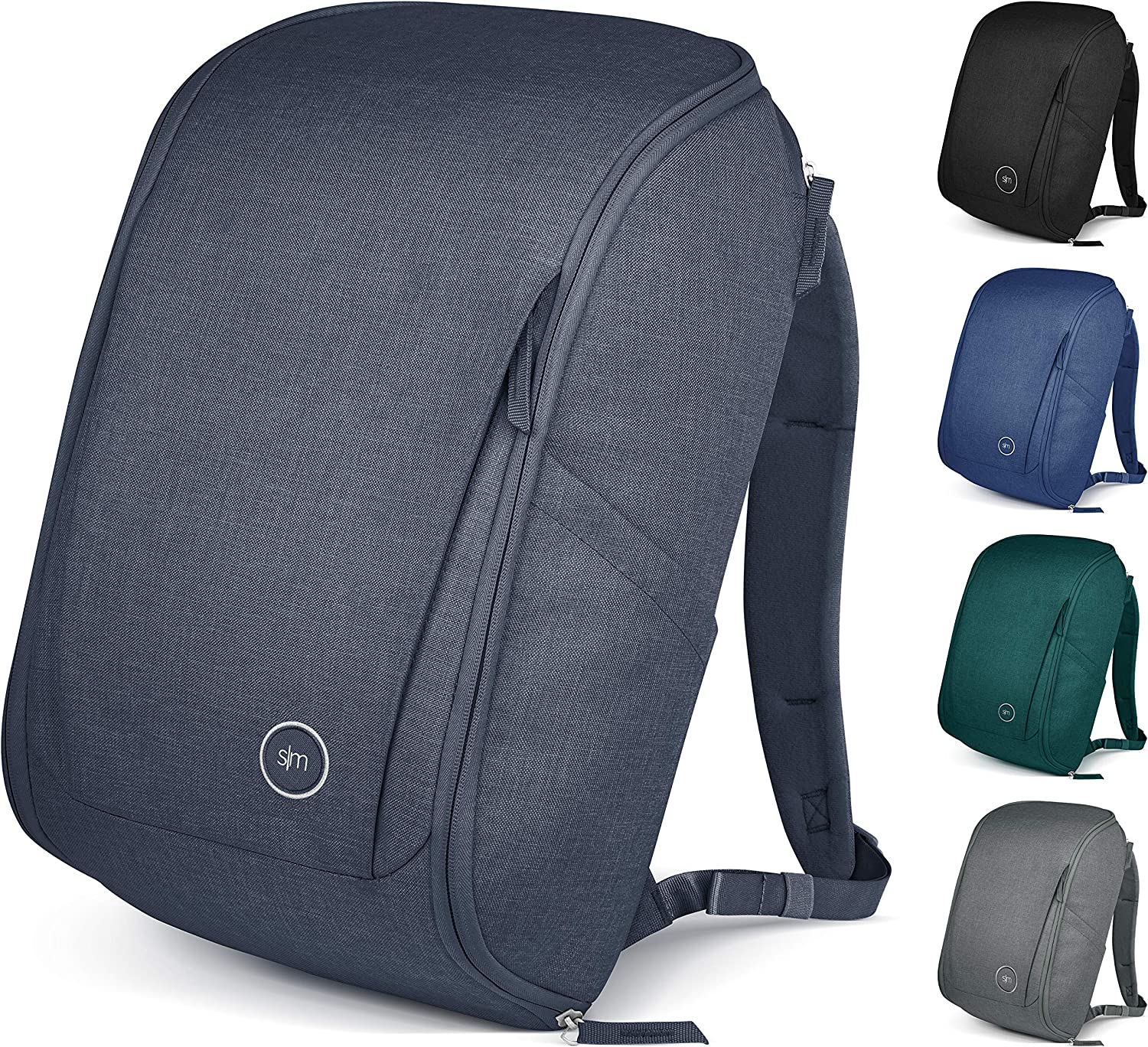 Simple Modern Legacy Backpack with Laptop Compartment Sleeve Accent 25L Travel Bag for Men /& Women College Work School Lagoon