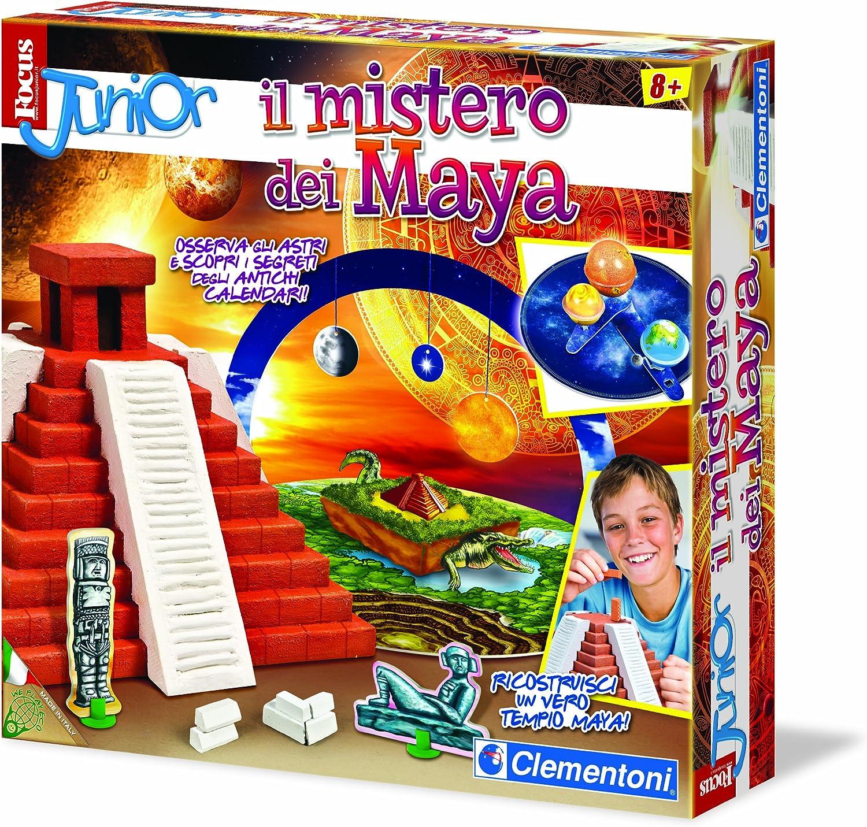 Clementoni 13819 Focus - Juego de construcción de pirámide Maya [Importado de Italia]