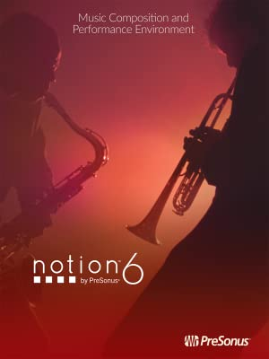 PreSonus Notion 6 Music Notation Software (Online Product Key) [Online Code]