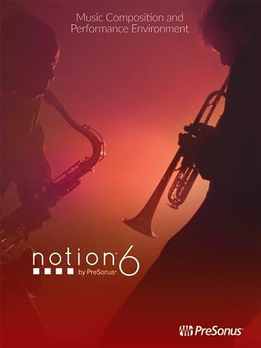PreSonus Notion 6 Music Notation Software (Online Product Key) [Online Code]