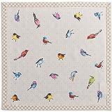 Maison d' Hermine Birdies On Wire * 纯棉 4 件套餐巾,50.8 厘米 x 50.8 厘米。