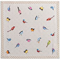 Maison d' Hermine Birdies On Wire 100% Cotton Soft and Comfortable Set of 4 Napkins Perfect for Family Dinners…