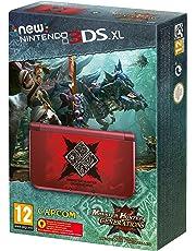 New Nintendo 3DS - Consola XL, Monster Hunter Generations Preinstalado - Edición Limitada