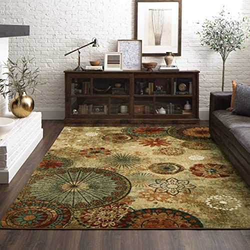 Mohawk Home Caravan Medallion Ornamental Area Rug