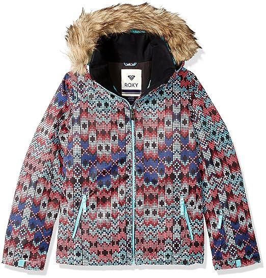 77cfa9825 Roxy Girls' Big American Pie Snow Jacket