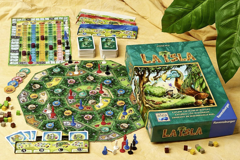 La Isla Strategy Board Game by Ravensburger: Amazon.es: Juguetes y juegos