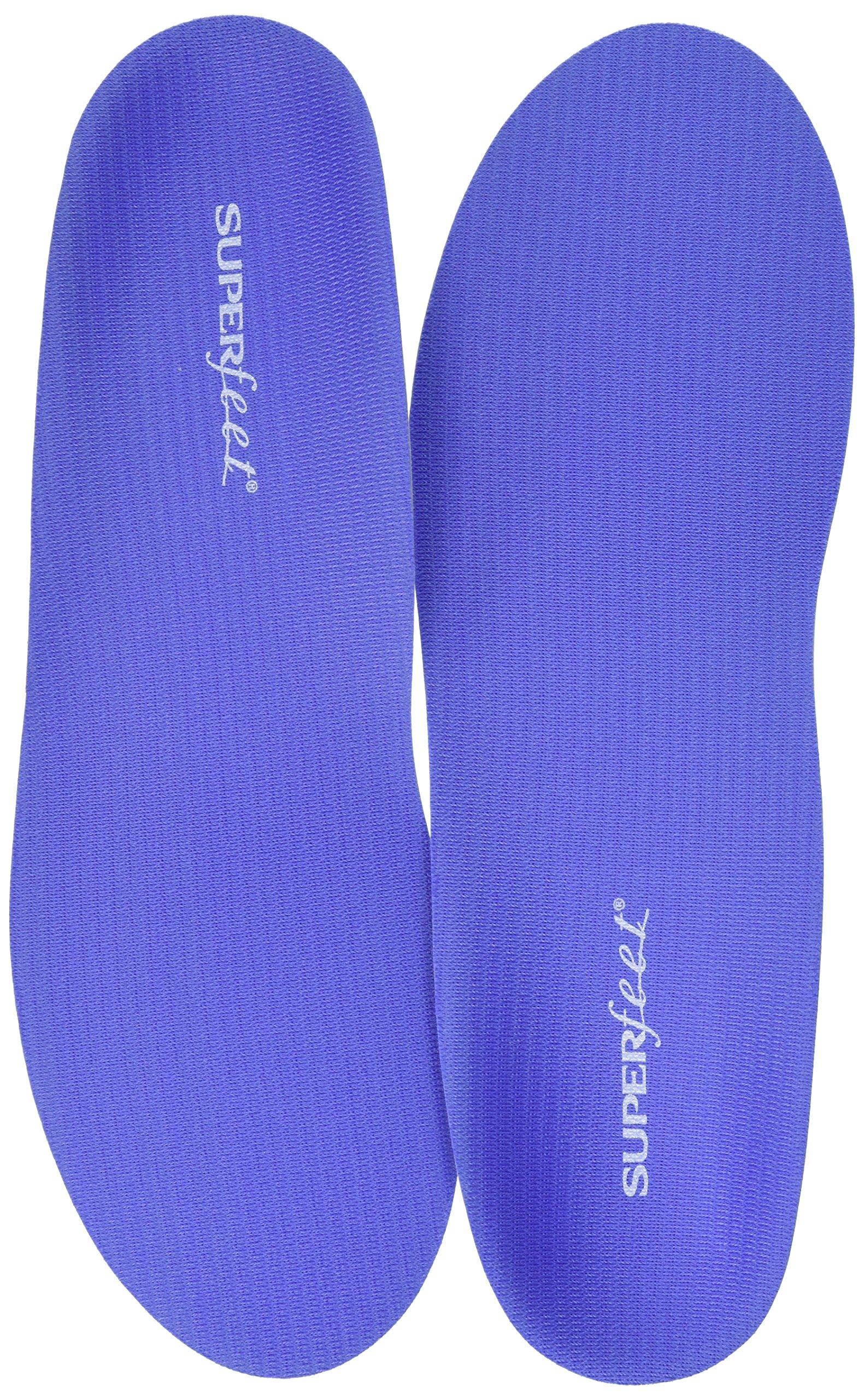 Superfeet Women's Comfort Shoe Insoles, Blueberry, Large/8.5-10 US M US