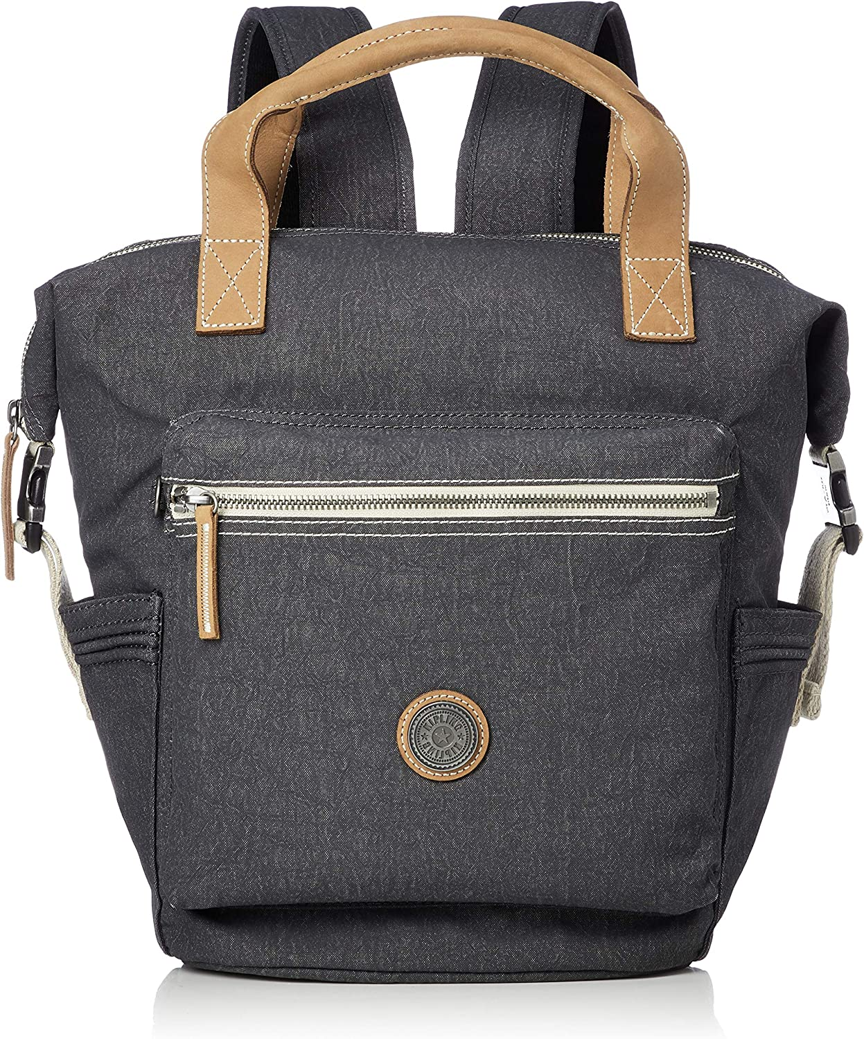 Kipling Edgeland Eyes Wide Open Tsuki S Small Backpack Casual Grey: Amazon.es: Zapatos y complementos