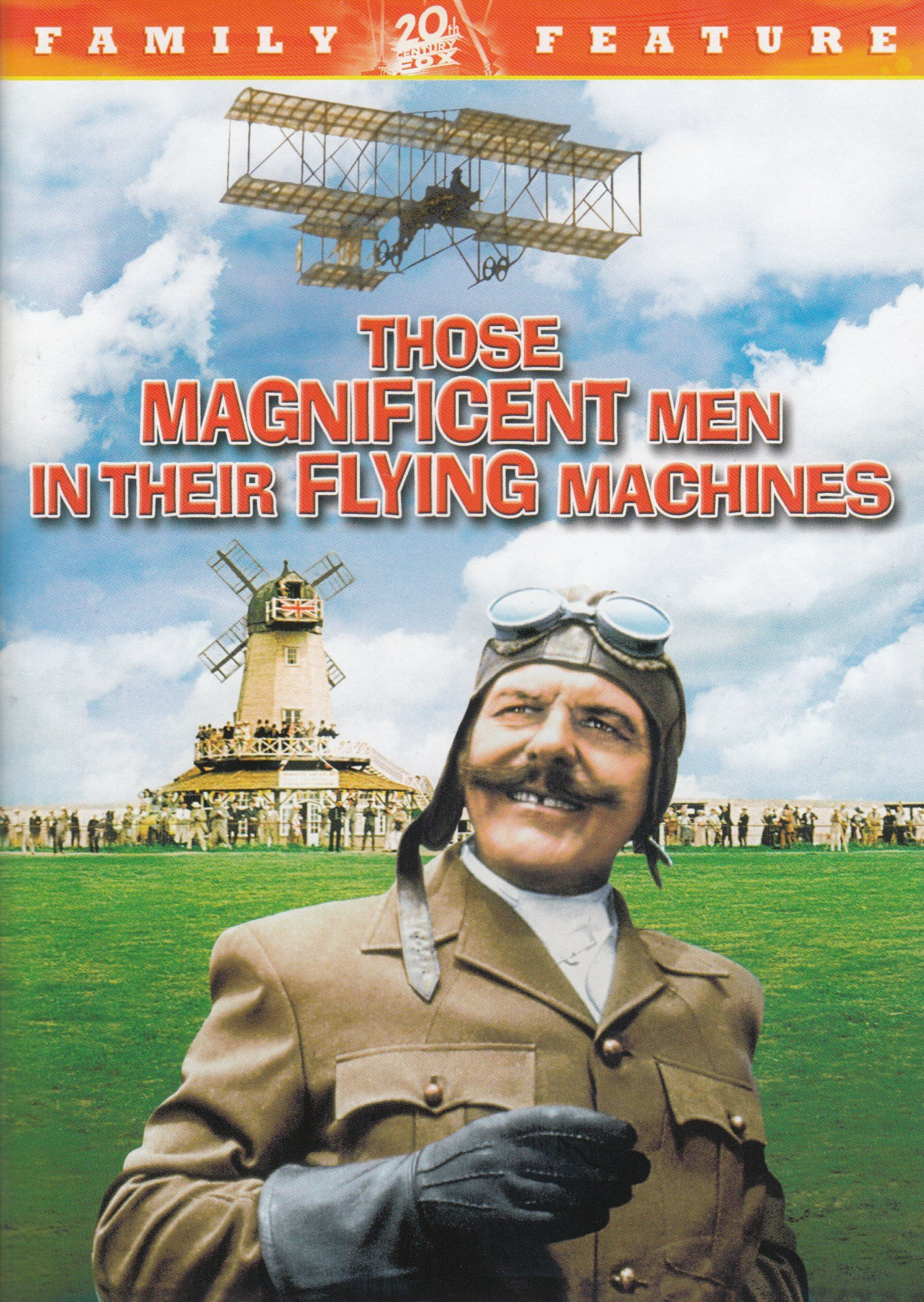 DVD : Those Magnificent Men in Their Flying Machines (Sensormatic)
