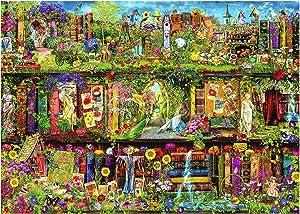 Jigsaw Puzzle for Adult 1000 Piece Colorful Secret Garden Landscape Puzzle DIY Collectibles Modern Home Decoration