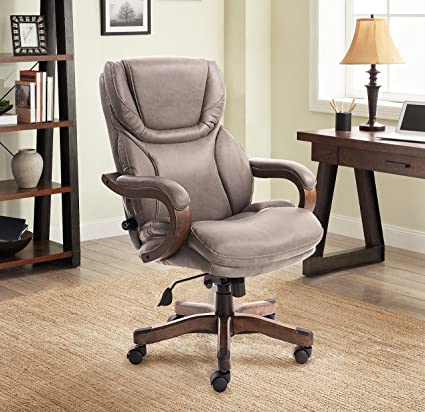 Amazoncom Serta Big And Tall Executive Office Chair With Upgraded