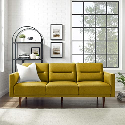 Editors' Choice: Volans 79″ Modern Fabric Three-Seater Sofa Couch