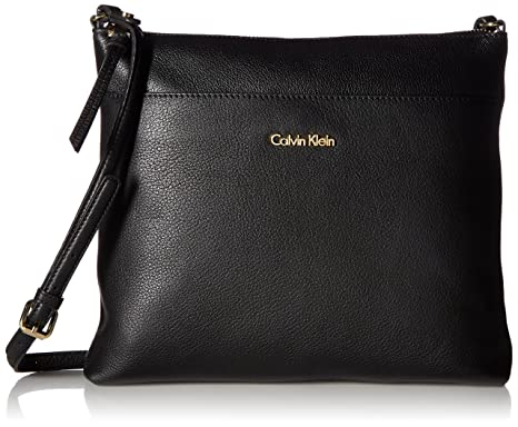 e5dc13e759d Calvin Klein Pebble Top Zip N/s Large Crossbody: Handbags: Amazon.com