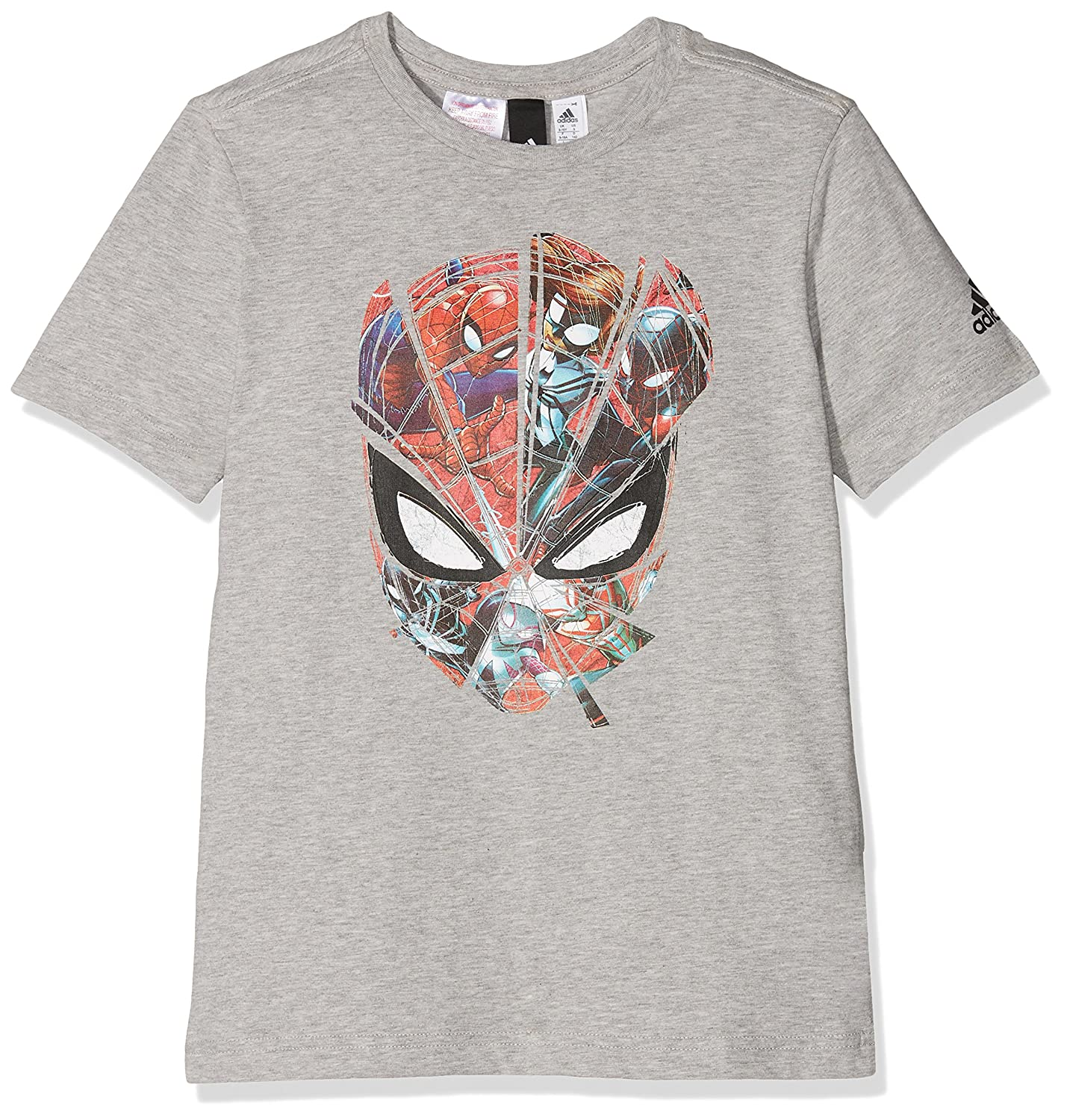 adidas Boys' Spiderman T-Shirt ADIEY|#adidas CE5389