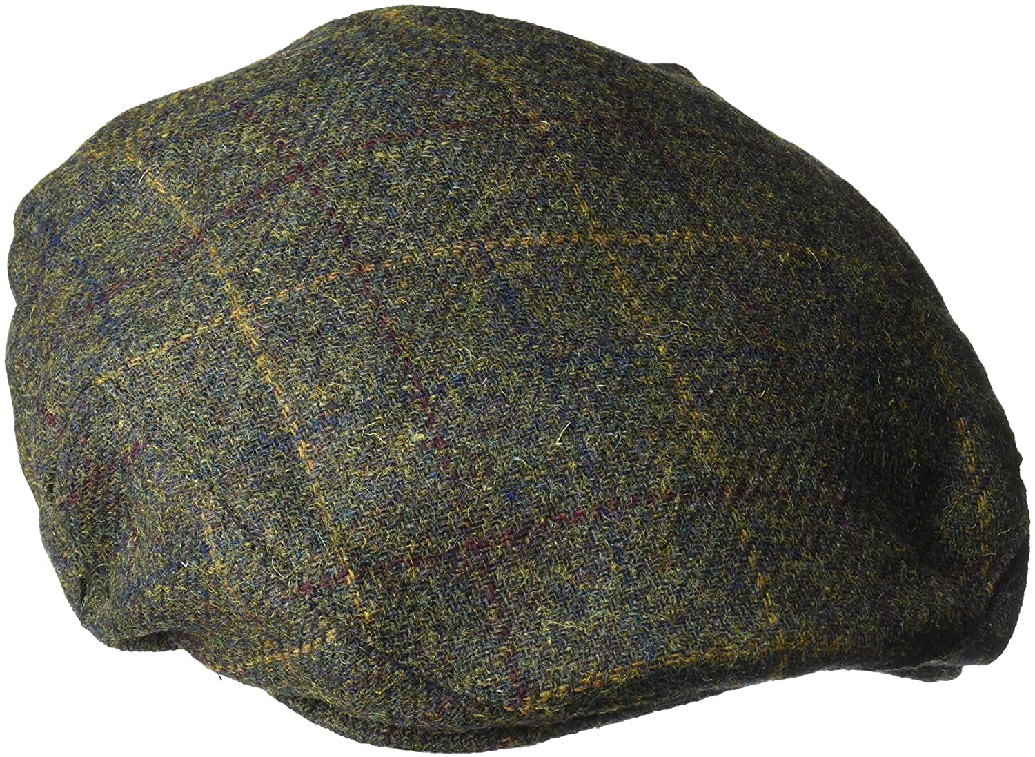 Henschel Mens Wool Blend Plaid Ivy Hat with Quilt Lining Henschel Headwear Child Code 4512