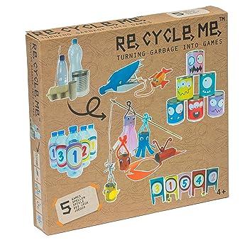 Re Cycle Me Defg1310 Recycling Bastelspass Deine Eigenen Spiele