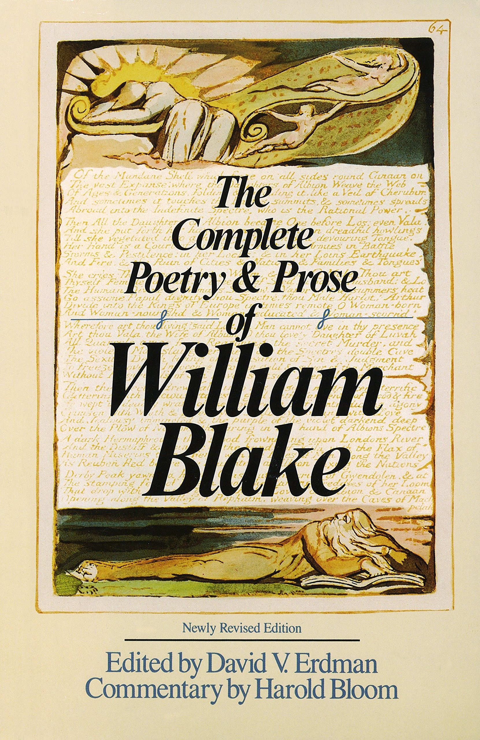 The Complete Poetry & Prose of William Blake: William Blake, David V.  Erdman, Harold Bloom, William Golding: 8601406695283: Amazon.com: Books