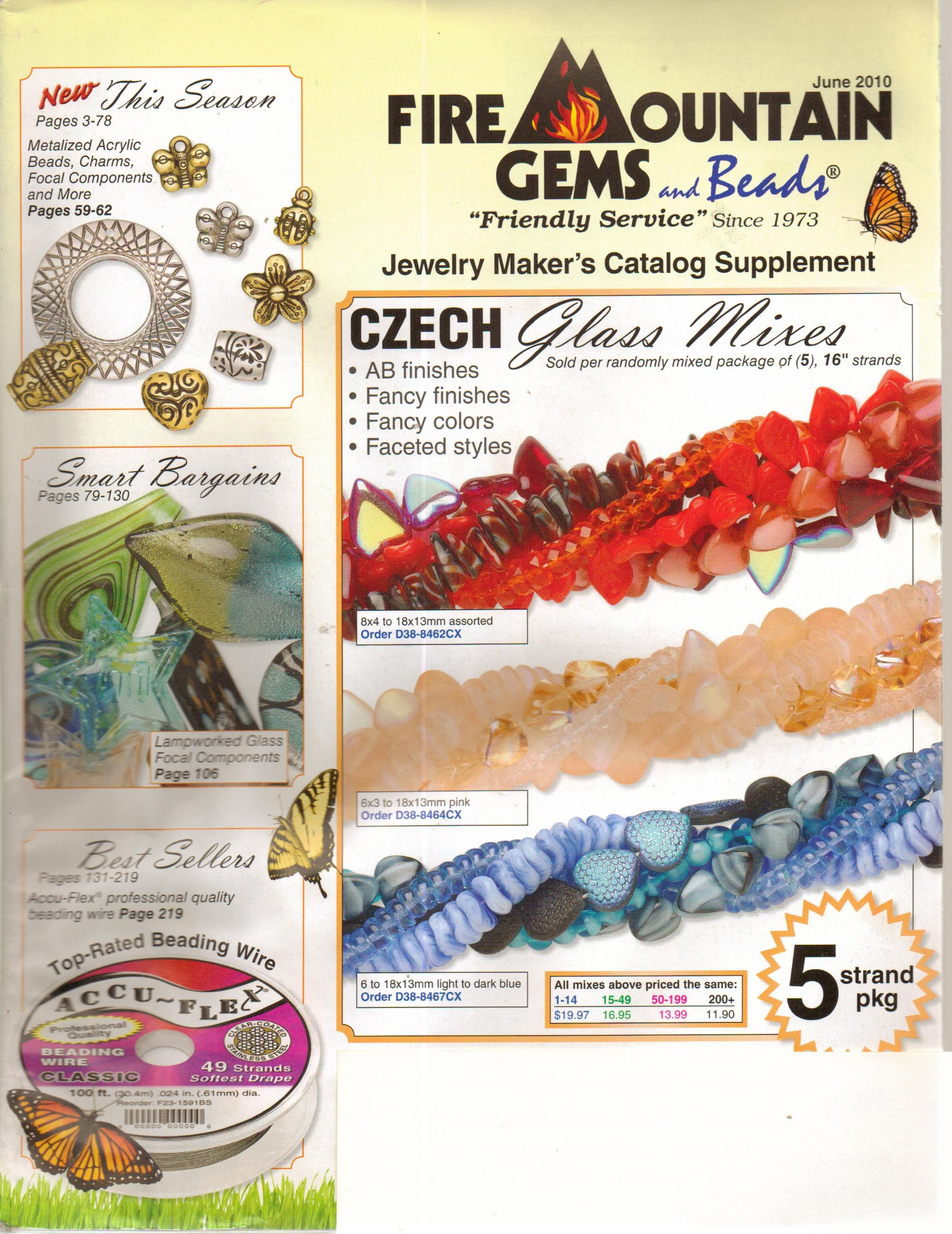 Fire Mountain Gems And Beads Catalog June 2010 June 2010 Books