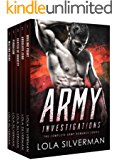 ARMY INVESTIGATIONS: A 5-Books ARMY Romance Series (English Edition)