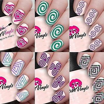 Amazon Spiral Swirl Variety Pack 6 Different Spiral Swirl