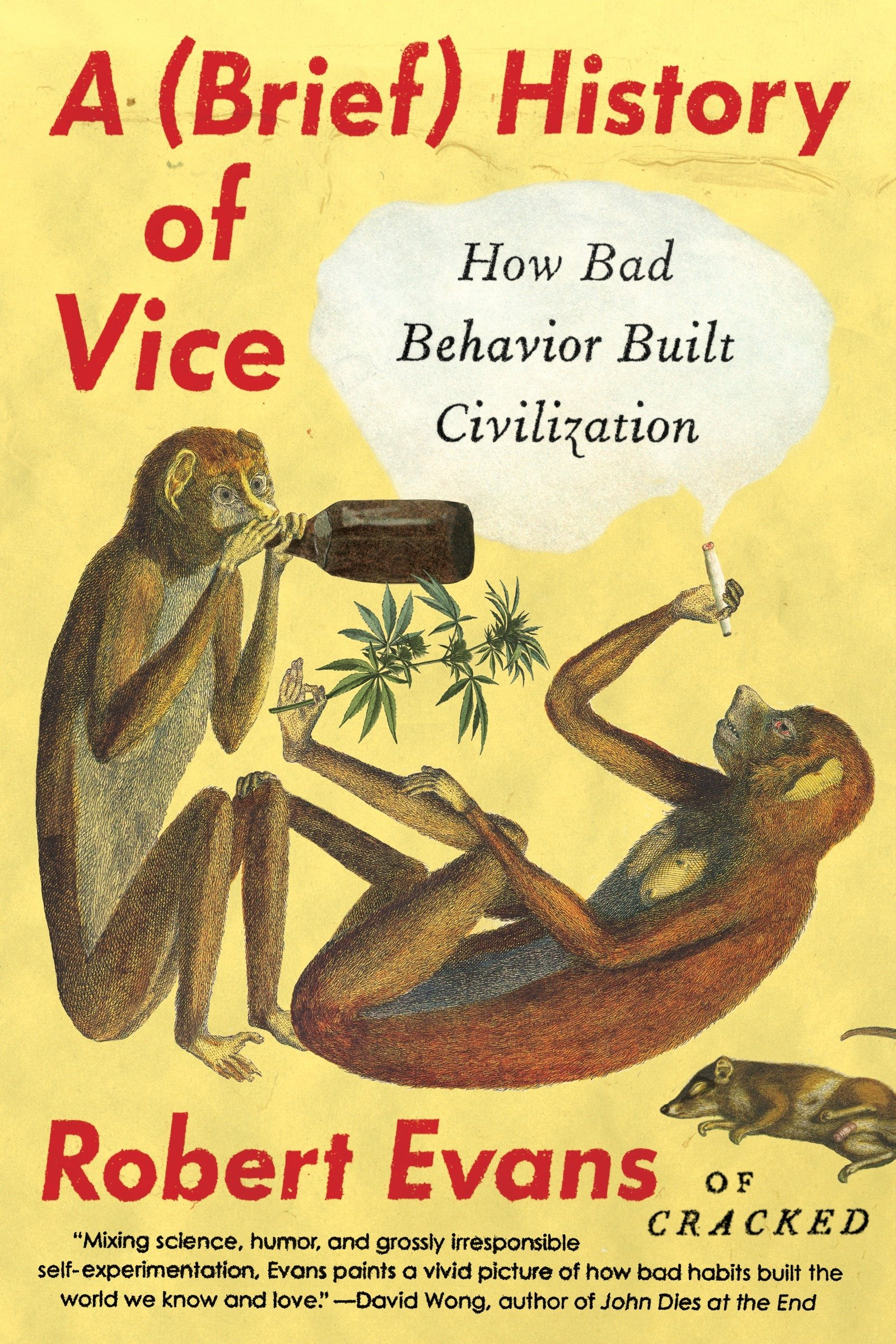 A Brief History of Vice: How Bad Behavior Built Civilization