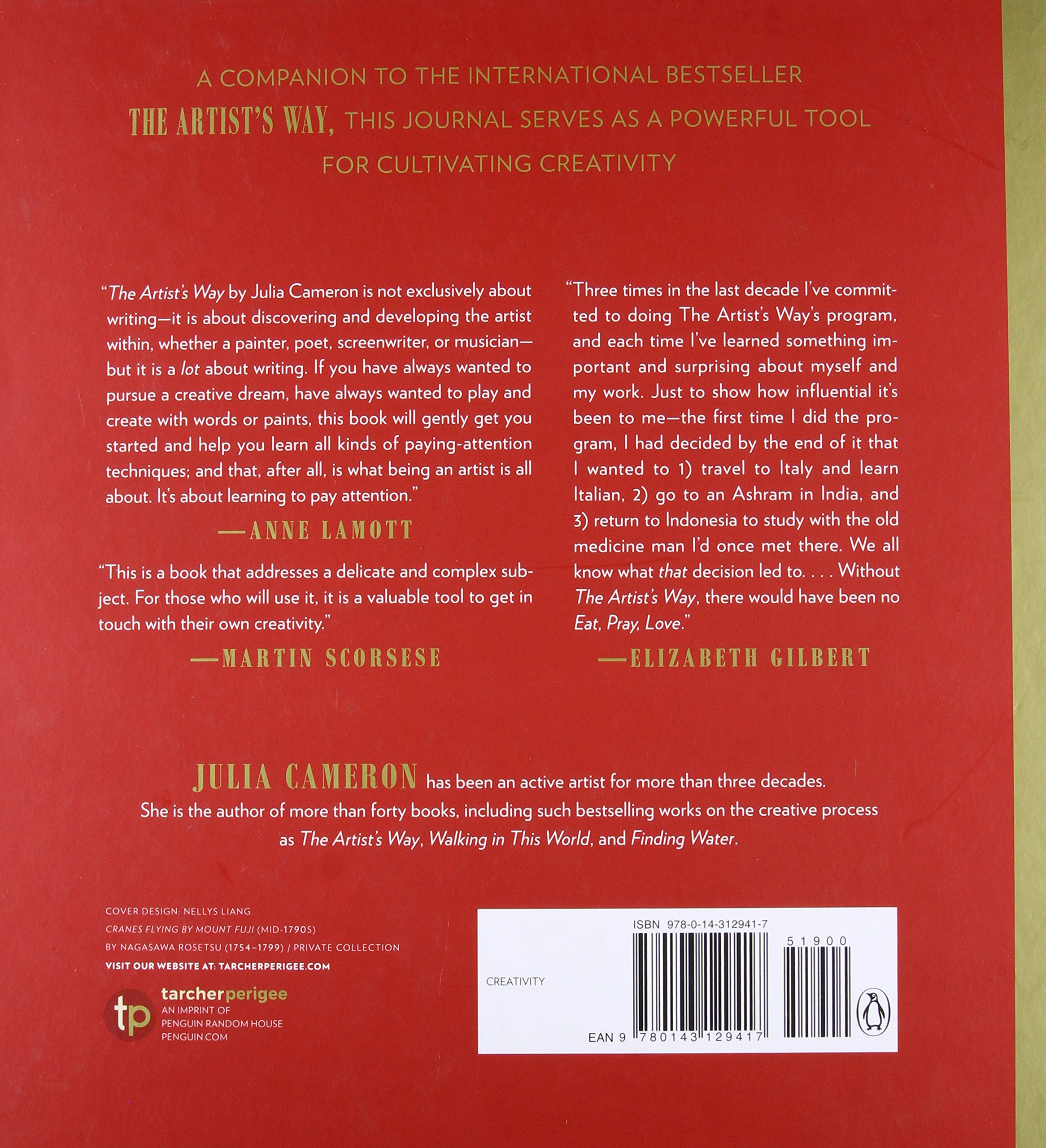 The Artist's Way Morning Pages Journal: Deluxe Edition: Julia Cameron:  9780143129417: Amazon.com: Books